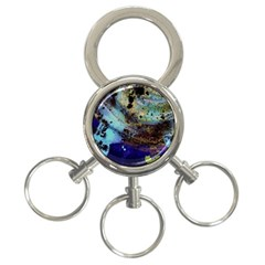 Blue Options 3 3 Ring Key Chains by bestdesignintheworld
