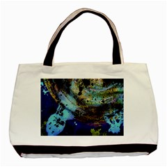 Blue Options 3 Basic Tote Bag (two Sides) by bestdesignintheworld
