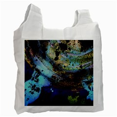 Blue Options 3 Recycle Bag (two Side)  by bestdesignintheworld