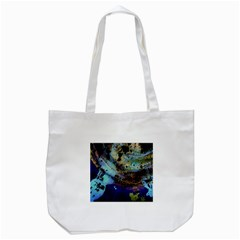 Blue Options 3 Tote Bag (white) by bestdesignintheworld