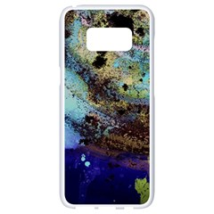 Blue Options 3 Samsung Galaxy S8 White Seamless Case