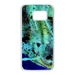 Blue Options 6 Samsung Galaxy S7 White Seamless Case by bestdesignintheworld