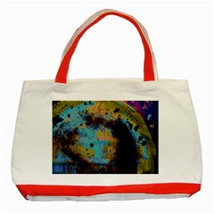 Blue Options 5 Classic Tote Bag (red) by bestdesignintheworld