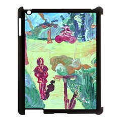Trail 1 Apple Ipad 3/4 Case (black) by bestdesignintheworld