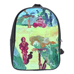 Trail 1 School Bag (xl) by bestdesignintheworld