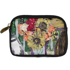 Sunflowers And Lamp Digital Camera Cases by bestdesignintheworld