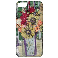 Sunflowers And Lamp Apple Iphone 5 Classic Hardshell Case by bestdesignintheworld