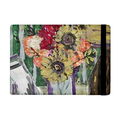 Sunflowers And Lamp Apple Ipad Mini Flip Case by bestdesignintheworld