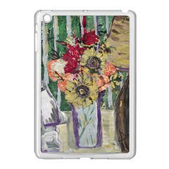 Sunflowers And Lamp Apple Ipad Mini Case (white) by bestdesignintheworld