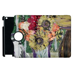 Sunflowers And Lamp Apple Ipad 3/4 Flip 360 Case by bestdesignintheworld