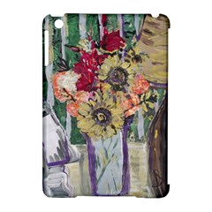 Sunflowers And Lamp Apple Ipad Mini Hardshell Case (compatible With Smart Cover) by bestdesignintheworld