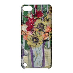 Sunflowers And Lamp Apple Ipod Touch 5 Hardshell Case With Stand by bestdesignintheworld