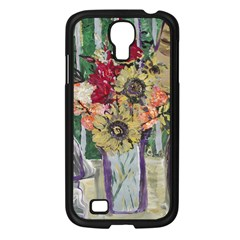 Sunflowers And Lamp Samsung Galaxy S4 I9500/ I9505 Case (black) by bestdesignintheworld