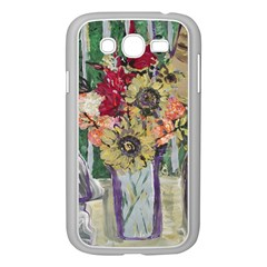 Sunflowers And Lamp Samsung Galaxy Grand Duos I9082 Case (white) by bestdesignintheworld
