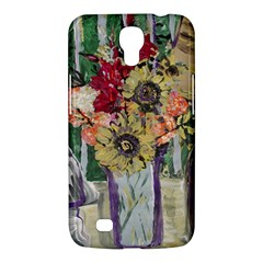 Sunflowers And Lamp Samsung Galaxy Mega 6 3  I9200 Hardshell Case by bestdesignintheworld