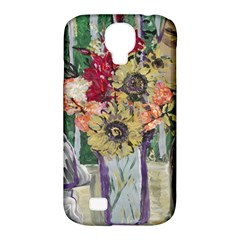 Sunflowers And Lamp Samsung Galaxy S4 Classic Hardshell Case (pc+silicone) by bestdesignintheworld