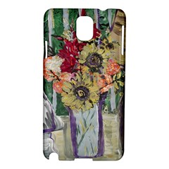 Sunflowers And Lamp Samsung Galaxy Note 3 N9005 Hardshell Case by bestdesignintheworld