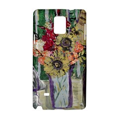 Sunflowers And Lamp Samsung Galaxy Note 4 Hardshell Case by bestdesignintheworld