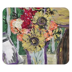 Sunflowers And Lamp Double Sided Flano Blanket (small)  by bestdesignintheworld