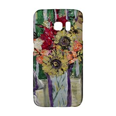 Sunflowers And Lamp Galaxy S6 Edge by bestdesignintheworld