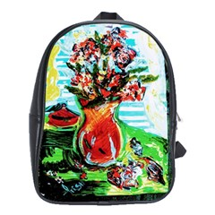 Dry Flowers On Your Windows School Bag (xl)