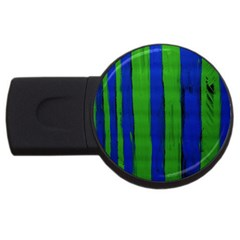 Stripes Usb Flash Drive Round (4 Gb) by bestdesignintheworld