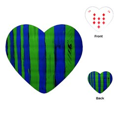 Stripes Playing Cards (heart)  by bestdesignintheworld