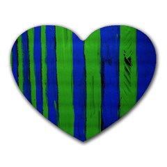 Stripes Heart Mousepads by bestdesignintheworld