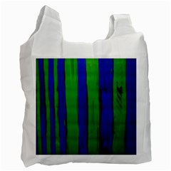 Stripes Recycle Bag (one Side) by bestdesignintheworld