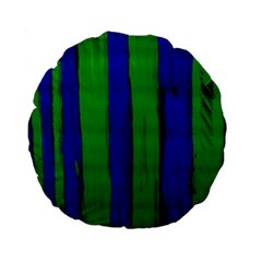 Stripes Standard 15  Premium Round Cushions by bestdesignintheworld