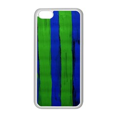 Stripes Apple Iphone 5c Seamless Case (white) by bestdesignintheworld