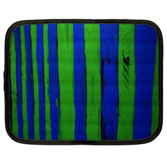 Stripes Netbook Case (xxl)  by bestdesignintheworld