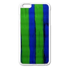 Stripes Apple Iphone 6 Plus/6s Plus Enamel White Case by bestdesignintheworld