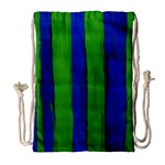 Stripes Drawstring Bag (Large) Front