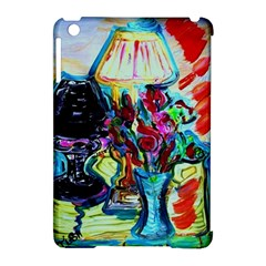 Still Life With Two Lamps Apple Ipad Mini Hardshell Case (compatible With Smart Cover) by bestdesignintheworld