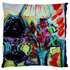 Still Life With Two Lamps Standard Flano Cushion Case (one Side) by bestdesignintheworld