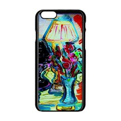 Still Life With Two Lamps Apple Iphone 6/6s Black Enamel Case by bestdesignintheworld