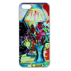 Still Life With Two Lamps Apple Seamless Iphone 5 Case (clear) by bestdesignintheworld