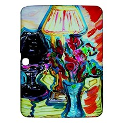 Still Life With Two Lamps Samsung Galaxy Tab 3 (10 1 ) P5200 Hardshell Case  by bestdesignintheworld