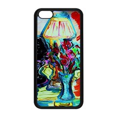 Still Life With Two Lamps Apple Iphone 5c Seamless Case (black) by bestdesignintheworld