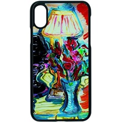 Still Life With Two Lamps Apple Iphone X Seamless Case (black) by bestdesignintheworld