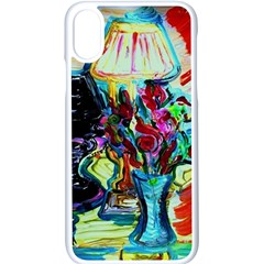 Still Life With Two Lamps Apple Iphone X Seamless Case (white) by bestdesignintheworld
