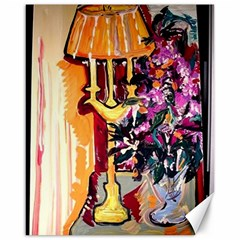 Still Life With Lamps And Flowers Canvas 16  X 20   by bestdesignintheworld