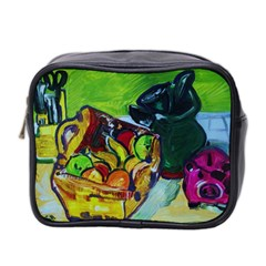 Still Life With A Pigy Bank Mini Toiletries Bag 2 Side by bestdesignintheworld