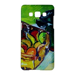 Still Life With A Pigy Bank Samsung Galaxy A5 Hardshell Case  by bestdesignintheworld