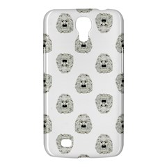 Angry Theater Mask Pattern Samsung Galaxy Mega 6 3  I9200 Hardshell Case by dflcprints