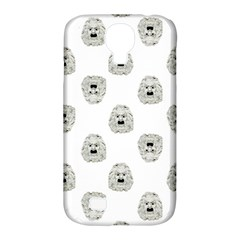 Angry Theater Mask Pattern Samsung Galaxy S4 Classic Hardshell Case (pc+silicone) by dflcprints