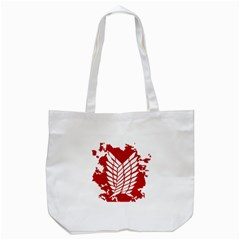 Attack On Titan Tote Bag (white) by Animestyle