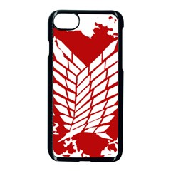 Attack On Titan Apple Iphone 8 Seamless Case (black)