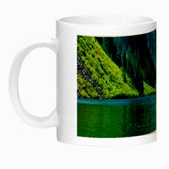 Beautiful Nature Lake Night Luminous Mugs by Modern2018